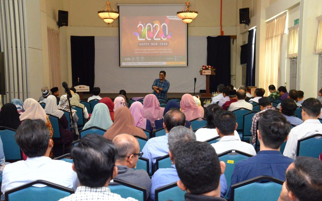 Majlis Amanat Tahun Baru 2020 Dekan FABU