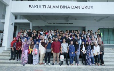 Perjumpaan Hari Pertama Bersama Pelajar Senibina Landskap Sem 2 2019/2020