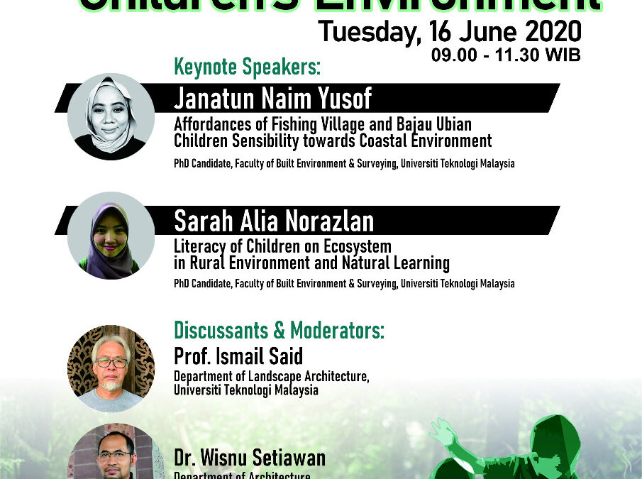 Open Lecture on Children's Environment