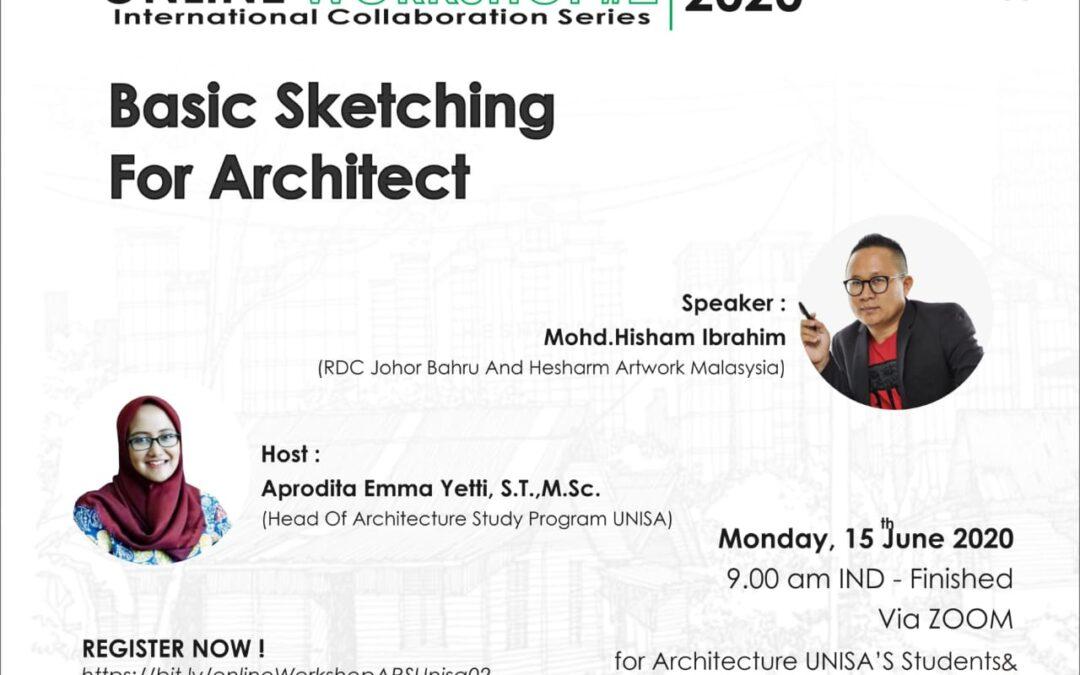 Basic Sketching for Architect