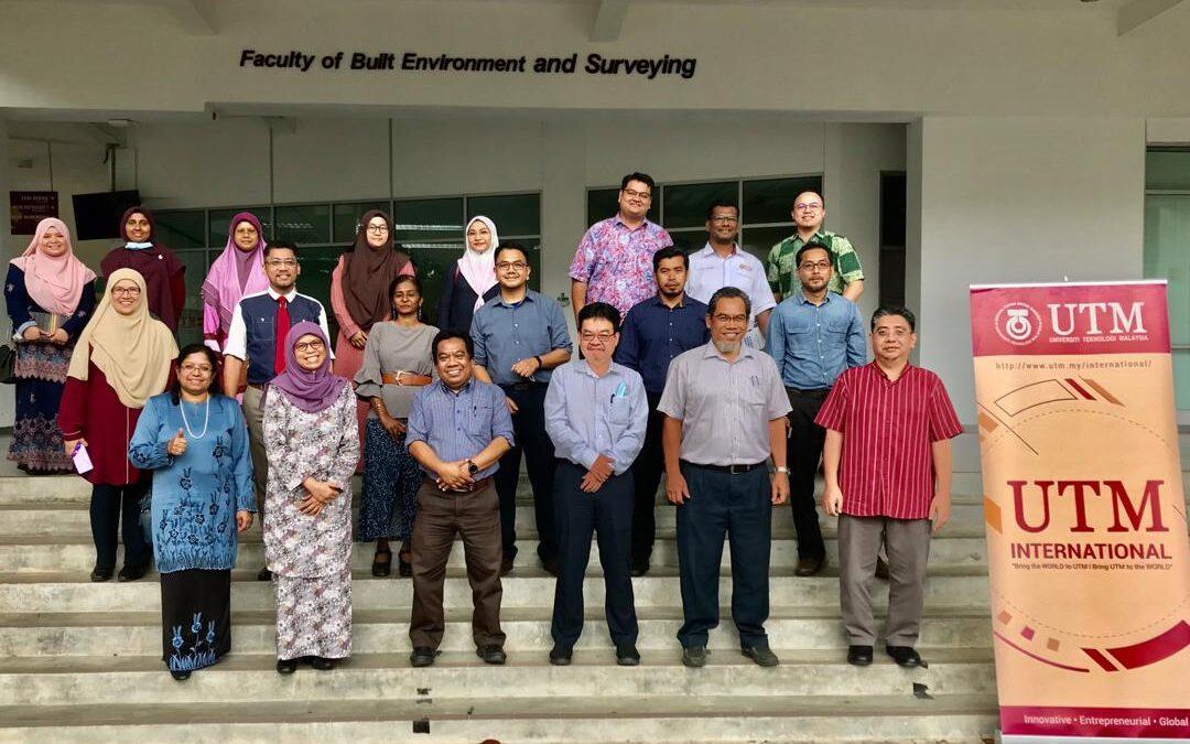Kunjungan Delegasi dari Pejabat UTM International ke FABU