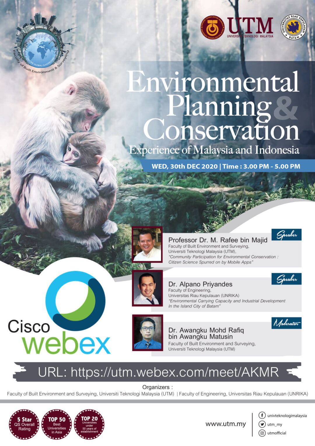 FABUlous 11th OGC – Environmental Planning and Conservation: Experience of Malaysia and Indonesia