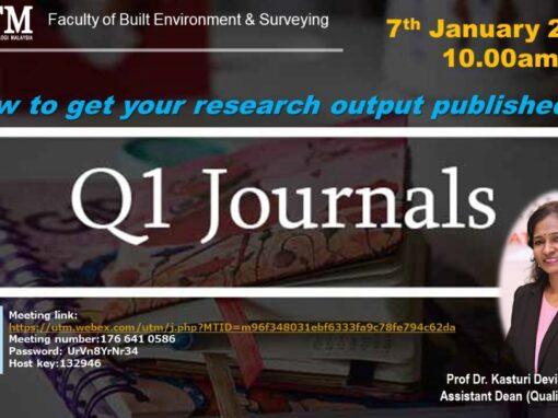 Q1 Journals