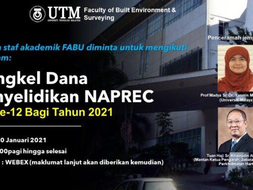 Bengkel Dana Penyelidikan NAPREC