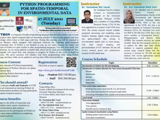 Python Programming for Spatio- Temporal in Environmental Data