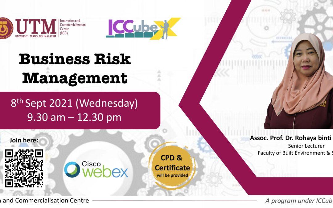 WEBINAR SERIES 9: BUSINESS RISK MANAGEMENT