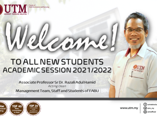 A warm welcome to all our new students